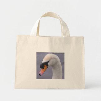 swan mini tote bag