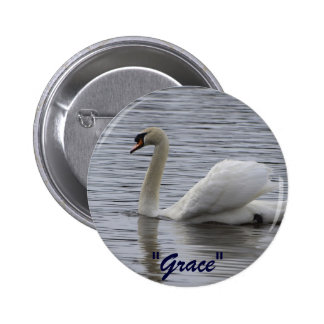 Swan Motivational Gifts Pin