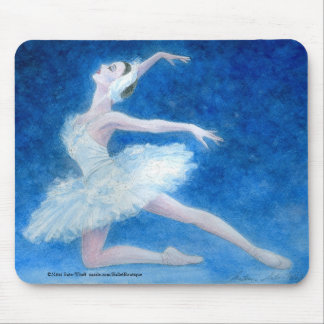 Swan mouse pad