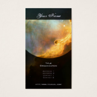 Swan Nebula (M17) Business Card