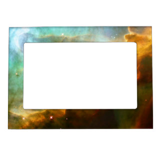 Swan Nebula (M17) Magnetic Picture Frame