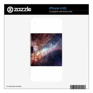 Swan Nebula Skins For iPhone 4S