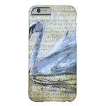 Swan Notes Barely There iPhone 6 Case