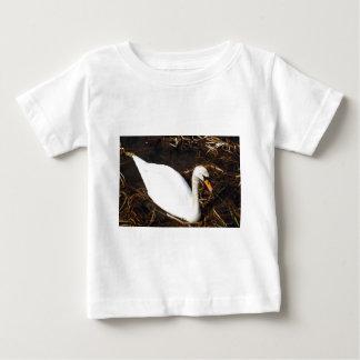 Swan on  Lake Baby T-Shirt