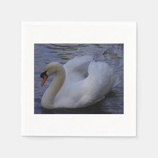 Swan Paper Napkins