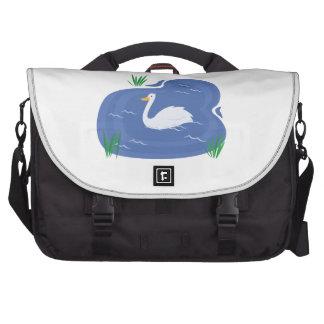 Swan Pond Laptop Computer Bag