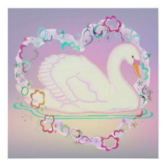 Swan Princess 20x20 Poster