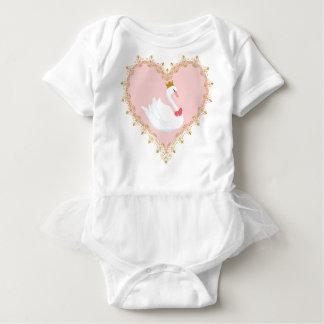Swan Princess Ballet Onsie Baby Bodysuit