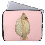 swan princess ( digital image ) laptop computer sleeve