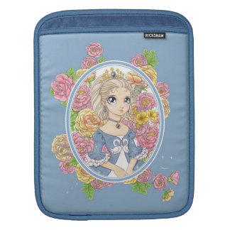 Swan Princess iPad/laptop sleeve (blue) iPad Sleeves