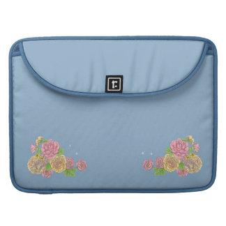 Swan Princess MacBook Pro laptop sleeve (blue) Sleeves For MacBooks