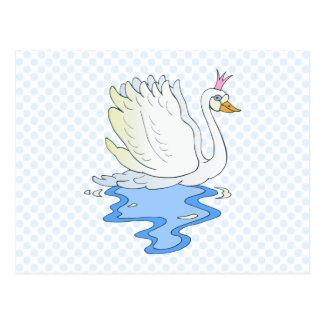 Swan Princess Postcard