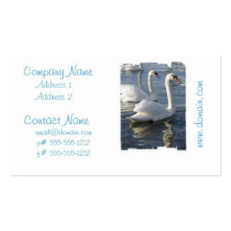 Swan Reflections Business Cards