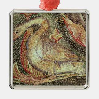 Swan, restored c.1200 metal ornament