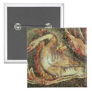 Swan, restored c.1200 pinback button