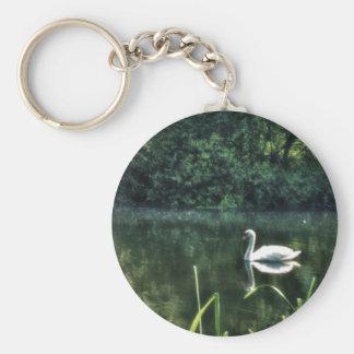 Swan River keychain