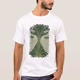 'Swan, Rush and Iris' wallpaper design T-Shirt