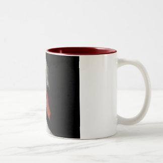 Swan Sighs Two-Tone Coffee Mug