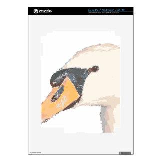 Swan iPad 3 Decals