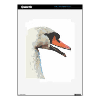 Swan iPad 2 Decals