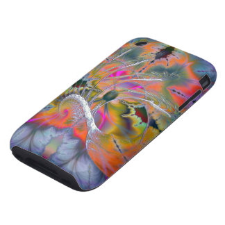 Swan Song Abstract Barely There Tough iPhone 3 Tough Cover