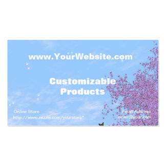 Swan Song Profile Card Business Cards
