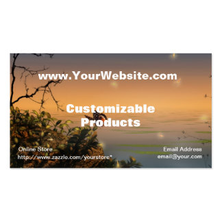 Swan Song Profile Card Business Card Templates