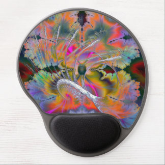 Swan Song Psychedelic Fractal Gel Mouse Pad