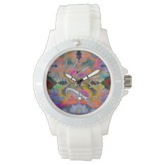 Swan Song Psychedelic Fractal Wristwatch