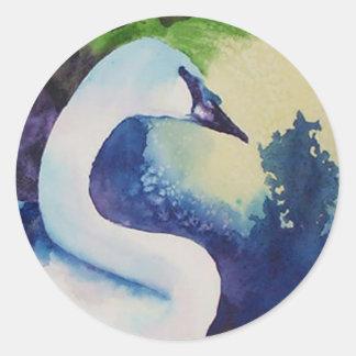 Swan Stickers