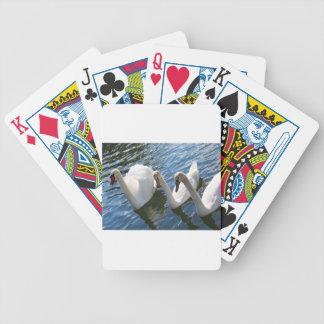 Swan - swan bicycle card deck