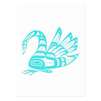 SWAN TEAL POST CARDS