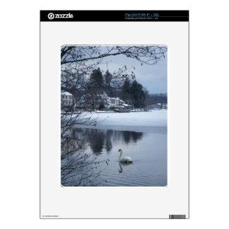 Swan Three Case iPad Skin