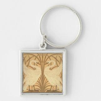 Swan wallpaper design keychains