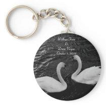 Swan Wedding Keychain