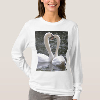 Swan Wedding Love Peace Hope Water Lake Park T-Shirt