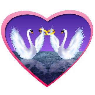 Swan Wedding Acrylic Cut Out