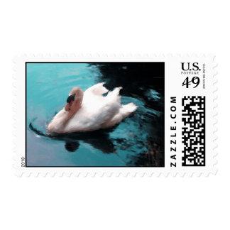 Swan Wedding Postage