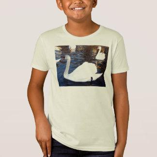 Swan White T-Shirt