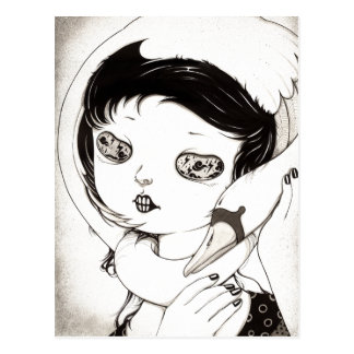 """Swan"" Yan Wei | 闫威 Postcard"