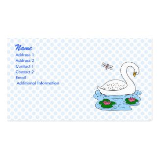 Swanda Swan Business Card