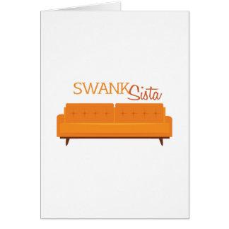 Swank Sista Card