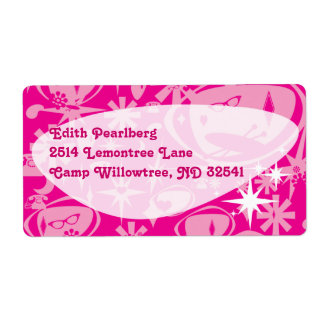 Swanky Deluxe Pink Labels
