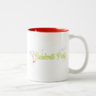 Swanky Green Bachelorette Party Mug