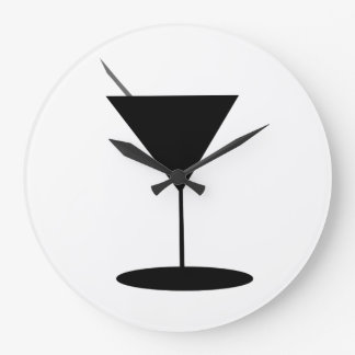 Swanky Martini Glass Clocks