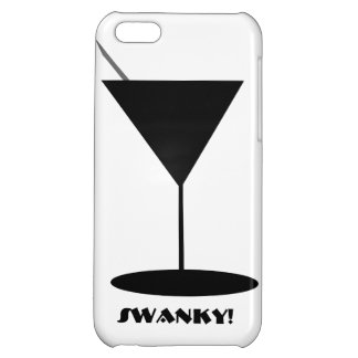 Swanky Martini Glass Cover For iPhone 5C