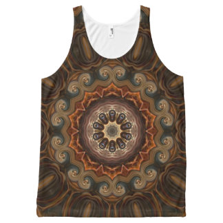 Swanky Parlor. All-Over-Print Tank Top