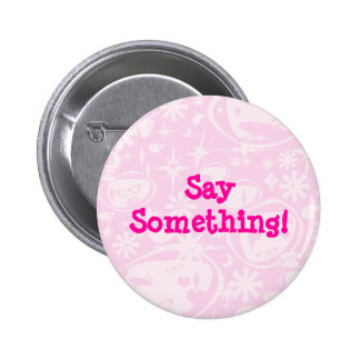 Swanky Retro Pink Buttons