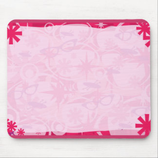 Swanky Retro Pink Mouse Pad
