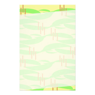 Swanky Sixties Style Stationery Paper